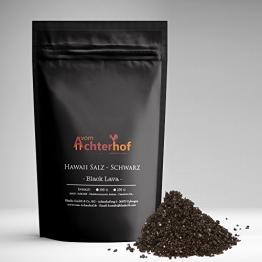100 g Hawaii Salz schwarz Gourmetsalz natürlich vom-Achterhof -