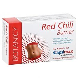 Abnehmen mit der Schärfe von Capsaicin | RED CHILI BURNER mit Capsimax® | Diät Pillen für Fettverbrennung | wissenschaftlich bewiesene Wirkung | geprüfte Premiumqualität | 60 Kapseln -