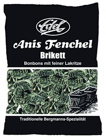 Anis-Fenchel-Brikett 150 g Beutel Edel-Bonbon -