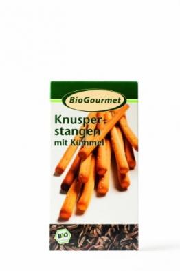 BioGourmet Knusperstange mit Kümmel, 8er Pack (8 x 100 g) -