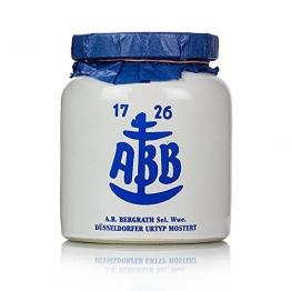Düsseldorfer ABB-Senf - Das Original im Steinkrug, mittelscharf, 600 ml -