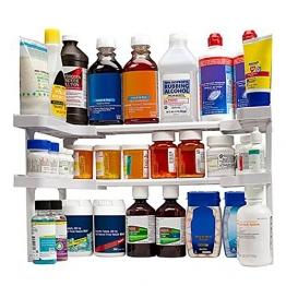 edenware Spice Rack und stapelbar Regal--verstellbar Gewürzeregal Organizer Speichern Gewürze, Kräuter, Dosen, Medizin -