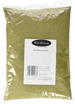 Eder Gewürze - Basilikum Gewürz gemahlen - 1 kg, 1er Pack (1 x 1 kg) -