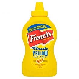 French's Classic Mustard 397g - Original amerikanischer Senf -