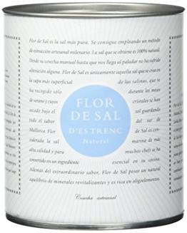 Gusto Mundial Flor de Sal Natural, 180 g -