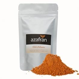 Habanero Chili-Pulver / gemahlen (100g) | Vorsicht scharf! von Azafran® -