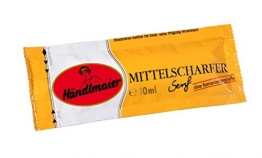 Händlmaier's Mittelscharfer Senf Portionsbeutel , 200er Pack (200 x 10 ml) -
