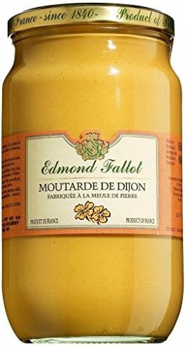 Moutarde de Dijon, Dijon-Senf klassisch scharf, 850 Gramm -