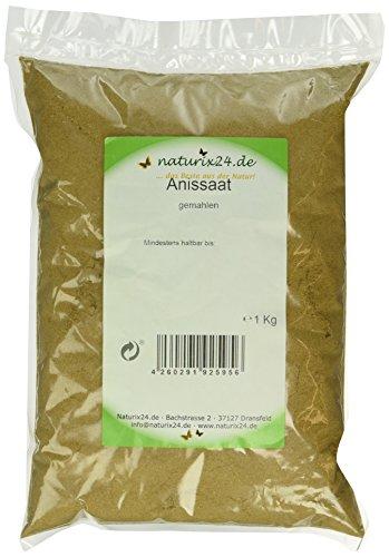 Naturix24 Anis gemahlen, 1er Pack (1 x 1 kg) -