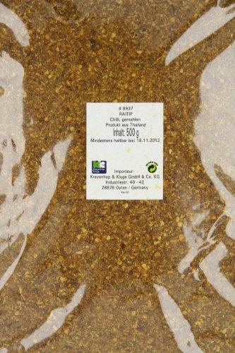 Raitip Chili, grob gemahlen, 2er Pack (2 x 500 g) -