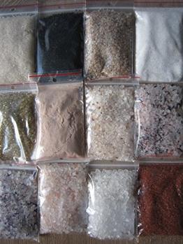 Salz Set 16 tlg, Hawaii Salz , Kala Namak , Blausalz ,Sonnensalz, Halit Salz usw -