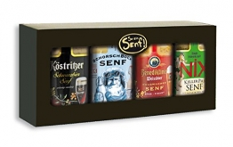 Senf-Geschenkpackung Bier-Spezialitäten -