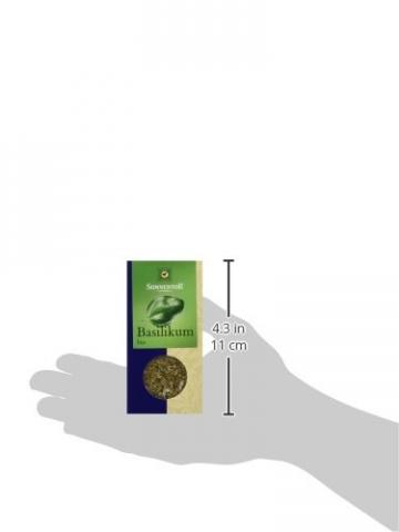 Sonnentor Basilikum, 1er Pack (1 x 15 g) - Bio -