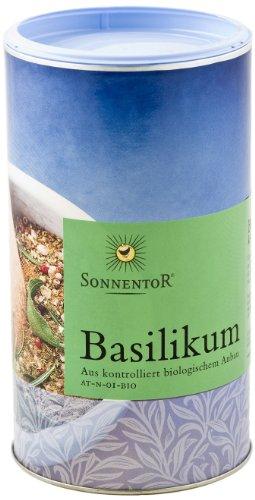 Sonnentor Basilikum Gastrodose, 1er Pack (1 x 150 g) - Bio -