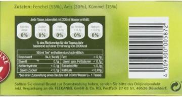 Teekanne Fenchel-Anis-Kümmel 20 Beutel, 4er Pack (4 x 60 g Packung) -