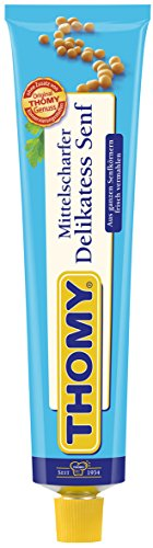 Thomy Delikatess-Senf, mittelscharf, 12er Pack, (12 x 200 ml) -