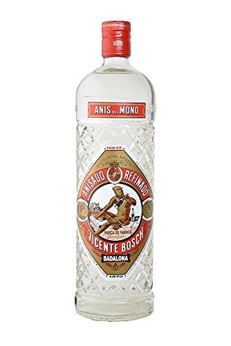 Vicente Bosch - Anis del Mono Dulce, Suß , Anisado Refinado - 1 Liter -