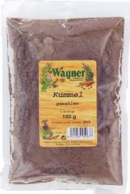 Wagner Gewürze Kümmel gemahlen, 3er Pack (3 x 100 g) -