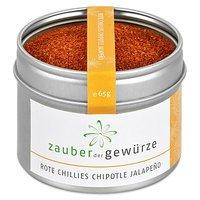 Zauber der Gewürze Rote Chilis Chipotle Jalapeno gemahlen, 65g -